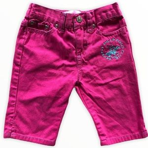 Beverly Hills Polo Club 2T Pink Capris